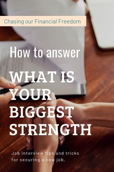 How to answer What Is Your Biggest Strength question during a job interview. Most Common Interview Questions, Behavioral Interview Questions, Tricky Questions, Interview Questions And Answers, Job Interview Tips, This Or That Questions, Job Interviews, Job Search Tips, Career Advice