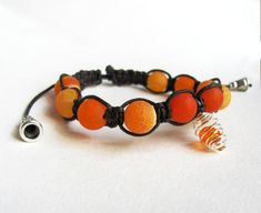ON SALE Beaded healing bracelet with natural by ThingsFromShela