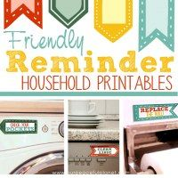 http://ourpeacefulplanet.com/2016/07/20/friendly-reminders-household-printables/
