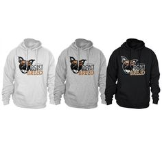 """50% of profits from this sale will be donated to Casa Del Toro Pit Bull Rescue from 4/15-4/21    Featuring a popular photo of Larry The Dog smiling in his aviators! Hoodie reads, """"Larry The Dog - Don't Bully My Breed"""". Ultra durable and extra warm. Ribbed cuffs and waistband guarantees a warm bod..."""