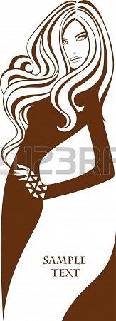 silhouettes hair