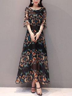 Kleider Damen Blumen Kleid Elegant Langarm Maxikleid Floral Print 25% Rabatt 105€+,CODE: DE25 10% Rabatt 75€+,CODE: 7510 8% Rabatt 55€+,CODE: 5508 fashion#Abendkleid#style#Brautkleid#Hochzeitskleid#Partykleid#elegant#Brautkleid#stylish#love#me#cute#photooftheday#nails#hair#beauty#Nette#beautiful#Mode#pretty#swag#pink#girl#girls#eyes#design#model#cool#polo#handsome#sports#Haushalt#Kleider#Tops#Herren Indian Fashion, High Fashion, Dress Attire, Indian Designer Wear, Elegant, Girls, Floral Prints, Fashion Outfits, Beautiful