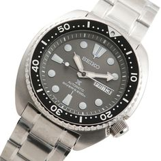 Seiko Prospex SRPC23J1 Mens Watches Online, Watches For Men, Seiko Automatic, Stainless Steel Case, Rolex Watches, Turtle, Japan, Turtles, Top Mens Watches