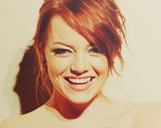 A bit more Emma Stone. Who else is ginger?
