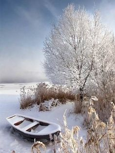This is so beautiful and peaceful. I can picture sitting there looking at this view, ##snow