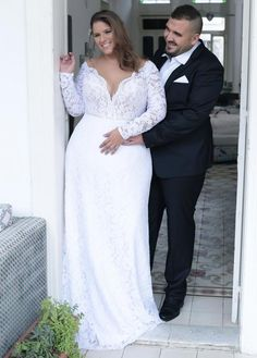 Wedding Dress Lace Plus size wedding gowns 2016 reut - Plus Size Wedding Gowns, Wedding Dresses Plus Size, Plus Size Dresses, Bridal Dresses, Plus Size Brides, Pregnancy Wedding Dresses, Plus Size Elopement Dress, Size 20 Wedding Dress, Wedding Dresses For Curvy Women