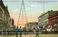 Corner of First and Santa Clara Streets