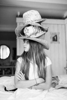 thylane. my hat addiction.