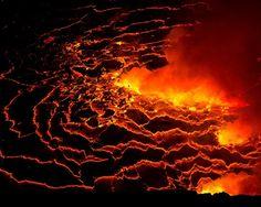 Nyiragongo Volcano Virunga National Park Congo | Photo by Ian Plant . . . . . . . . . . . #photograph  #photographer #travelmore #exploremore #openmyworld #dreamscape #outdoorphotography #outdoor #photos #photography #volcano #volcanoes #lava #red #congo #smoke