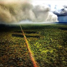 Chasing storms with @munrohardy #ringerswestern #mustering #chopper #ringerforadollar  http://ift.tt/1VSP58U