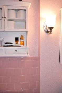 RE: Dated Pink Tile Bathroom. Before You Get Rid Of That Dated Tile Thatu0027s
