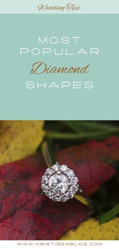 Most Popular Diamond Shapes - Kristi Rex Photography