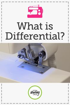 Aurora Sisneros demonstrates the many ways to use a differential when sewing fabrics. Learn how to change the levels of the differential as well as how the differential works with a variety of fabrics. Find out how you can best utilize a differential at home.