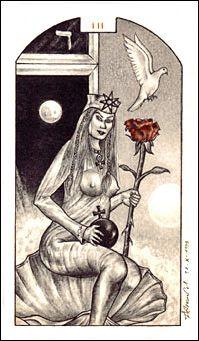 A Imperatriz  (The Empress) - Tarô Carbônico