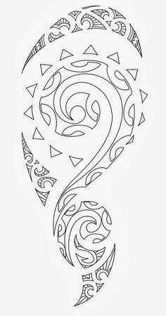 ec827a7dd 13 best Half Sleeve Tribal Tattoo Stencils images in 2017   Half ...