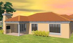 single storey house plans in south africa - Google Search Single Storey House Plans, Exterior Design, South Africa, Beautiful Homes, How To Plan, Outdoor Decor, African Dress, Outdoors, Houses