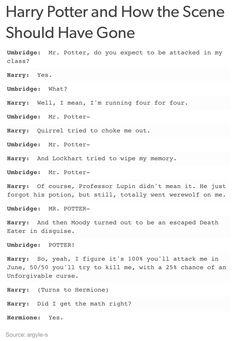 Harry Potter and Umbridge