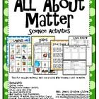 States of Matter Science ActivitiesThis file includes activities and experiment you can use when teaching a unit on states of matter.Includes:...