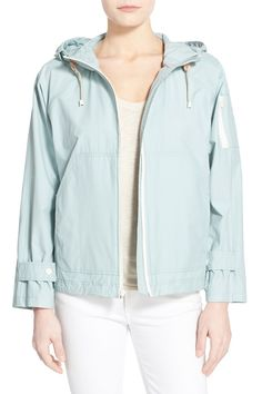 4cb04932b39 Sporty Hooded Jacket by Cole Haan on @nordstrom_rack University Outfit,  Sporty Style, Sporty