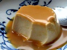 Panna cotta fondante au caramel au beurre sale