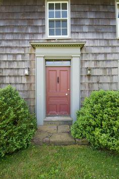 Sagg Main Street ca 1770 Sagaponack New York - traditional - entry - new york - Lear & Mahoney Landscape Associates