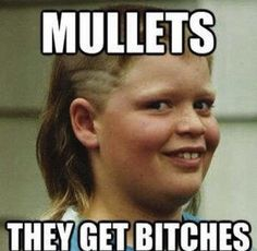 Mullets get bitches