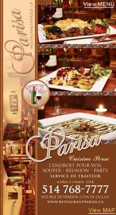 Restaurant Parisa (opyions végé)