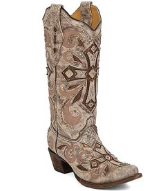 I wish I could pull these off! Corral Sadler Cowboy Boot
