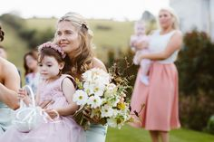 Blush wedding flowers. Rebecca Roundhill Photography.