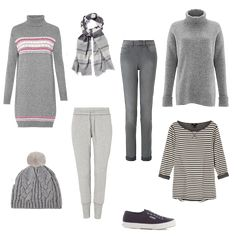 How to wear grey - versatile grey to add to your wardrobe