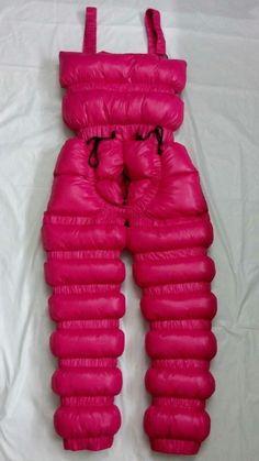 New unisex shiny nylon wet look overfilled ski bibs snow bibs