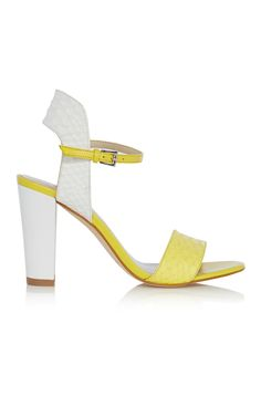 Block heel sandal | Luxury Women's sandals | Karen Millen