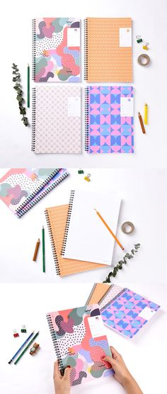 Make note-taking fun again with the My Rainbow B5 Notebook! The colorful geometric patterns make it fun on the outside while the lined & perforated pages inside make it super practical, too! Studying, working, and planning will never be the same~