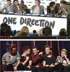 Larry and Ziam....look at Niall lol. He looks stuck with them
