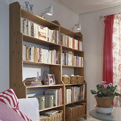 ikea leksvik Ikea Leksvik, Cottage Living Rooms, Decoration, Home Office, Living Room Designs, Playroom, Bookcase, Sweet Home, Shabby Chic