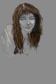 kate bush portrait i made