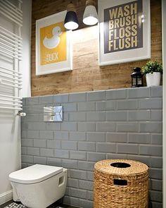 Dúvidas para escolher as cores dos revestimentos do banheiro ou lavabo? Tem dicas no #SimplesDecoracao ! Link no perfil #banheiro #lavabo #combinacaodecores #cor