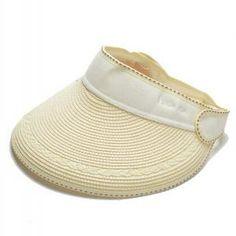3357dc85 Ladies package sun visor hat for summer sports travel straw hats beach wear