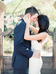 The look of love: http://www.stylemepretty.com/2015/06/11/elegant-scottsdale-garden-wedding/ | Photography: Rachel Solomon - http://www.rachel-solomon.com/