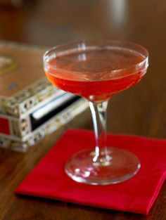 El Presidente-   1½ oz. rich white rum 1½ oz.Dolin Vermouth Blanc(Martini & Rossi or Cinzano Bianco are fine substitutes) 1 barspoon orange Curaçao or Grand Marnier ½ barspoon real grenadine Thinly cut orange peel Tools: barspoon, mixing glass, strainer Glass: cocktail Garnish: maraschino cherry (optional)  Stir ingredients well with cracked ice and strain into a chilled glass. Twist a swatch of thinly cut orange peel over the top and drop in or discard. Garnish, if desired, with a cherry.