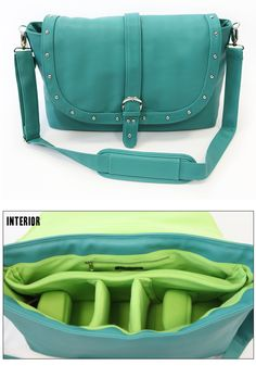This is a need---a bag that holds both camera, lens, and laptop?! I can't justify the price right now, but this is the top of my birthday/Christmas list. Helps that the color is gorgeous too:)