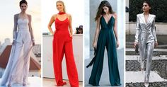 15 Jumpsuits SO cute that will convince you not to wear a dress at your graduation Komplette Outfits, Winter Outfits, Fashion Outfits, Womens Fashion, Fiesta Outfit, Pullover, Groom Dress, Doll Clothes, Wedding Day