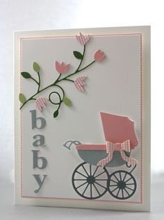 O'Baby card by Jenny Griffiths Memory Box DT member http://davebrethauer.typepad.com/outsidethebox/2013/05/o-baby.html
