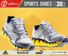 #MyDiscountOffer New Arrivals: #Sports Shoes @ 30% OFF  Check out our latest range of #Stylishly designed Sports Shoes. Pamper your feet with the extra care during those strenuous workout sessions.Hurry, Buy Now!     Click here for Your Purchase ->>