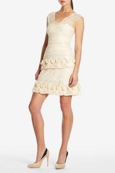 Short wedding dress...