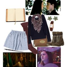 19/70 Ginny Weasley, created by girloverboard on Polyvore