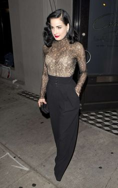 One and only Dita Von Teese More