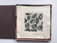 Quiero compartir lo último que he añadido a mi tienda de #etsy: La mesa del café. Libro de artista.