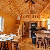 Prefab Log Cabins, Log Cabin Sheds, Tiny Log Cabins, Small Log Cabin, Tiny House Cabin, Cabins And Cottages, Cabin Kits, Wooden Cabins, Cabin Ideas