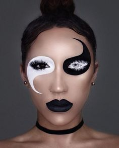 Inspiring halloween makeup ideas to makes you look creepy but cute 05